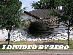 Dividing By Zeroツ #Humor #Funny #Lol