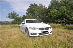 BMW 420d in its natural habitat