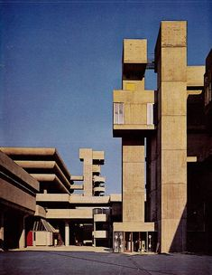 TRICORN CENTRE | PORTSMOUTH | HAMPSHIRE | ENGLAND: *Completed: 1966; Demolished: 2004; Designed By: Owen Luder & Rodney Gordon*