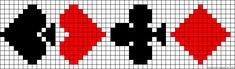 A47840 - friendship-bracelets.net Alpha Patterns, Card Patterns, Loom Patterns, Cross Stitch Patterns, Biscornu Cross Stitch, Cross Stitch Cards, Cross Stitching, Beaded Chocker, Native Beading Patterns