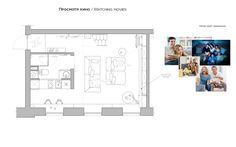 Haruki's apartment on Behance