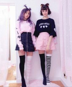 Pin by bianca rodriguez on kawaii clothes in 2019 pastell go Pastel Goth Fashion, Kawaii Fashion, Cute Fashion, Gothic Fashion, Fashion Models, Pastel Goth Style, Fashion Fall, Fashion Beauty, Girl Fashion