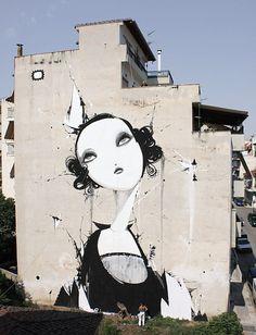 Street Art in Athens: Project Carpe Diem & Same