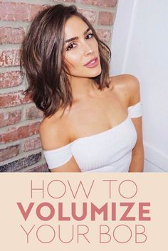 If you have a bob haircut, getting to look voluminous can be tricky because styling it the wrong way will give you the dreaded poufy look. Find out how to give a bob body like Olivia Culpo's cut with tips from the star's stylist Justine Marjan.