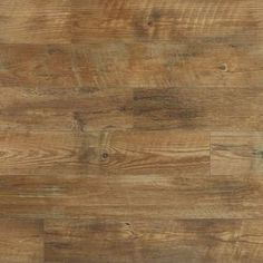 Stainmaster Softstep Plus 12-Ft W X Cut-To-Length Huntington Coffee Wood-Look Low-Gloss Finish Sheet Vinyl 181300