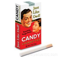 JUST LIKE DAD CANDY CIGARETTES $2.50
