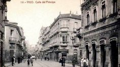 Rúa do Príncipe. Ano 1915