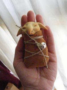 duendes hadas elfos baby  sculpey,telas,pieles modelado
