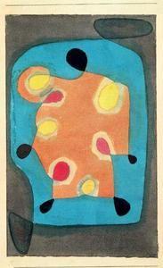 Paul Klee - Conception pour une cape