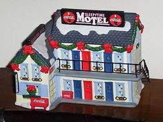 "COCA COLA 1999 ""RETIRED"" TOWN SQUARE COLLECTION ""SLEEPYTIME MOTEL"""