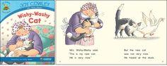 Wishy-Washy Cat—by Joy Cowley Series: Joy Cowley Early Birds GR Level: F Genre: Narrative, Fiction