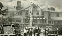 """#OTD in 1979, fire nearly destroys Lighthouse Inn in New London. @thedayct book """"When Disaster Strikes"""" has details. https://t.co/wjkBFyzQNQ https://t.co/8Ez71s3CXH"""