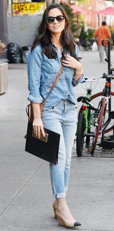 Olivia Munn's Best Street Style Looks - September 10, 2014 from #InStyle