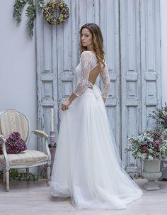 Robe de mariée dentelle et tulle Marie Laporte Plus