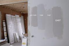 FIFTY SHADES OF GREY - Sally's Grey Wall Color, Wall Colors, Colours, Fifty Shades Of Grey, Living Room, Interior, Studio Ideas, House, Classroom