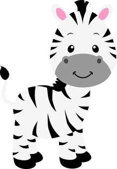 Jungle animal art baby shower 57 ideas for 2019 Jungle Theme Birthday, Jungle Party, Safari Party, Safari Theme, Zebra Party, Zebra Clipart, 2 Baby, Baby Art, Baby Zebra