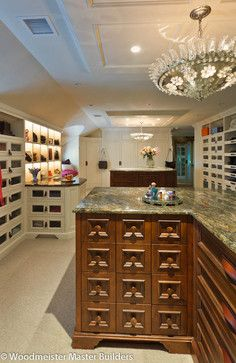 Woodmeister Master Builders - traditional - closet - boston - Woodmeister Master Builders- lighting