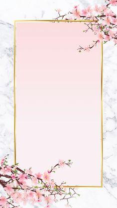 Framed Wallpaper, Flower Background Wallpaper, Flower Phone Wallpaper, Pink Wallpaper Iphone, Flower Backgrounds, Aesthetic Iphone Wallpaper, Wallpaper Backgrounds, Iphone Wallpapers, Pink Floral Background