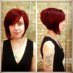 we #love doing #redhair at #strangebeautyshow. #haircolor and #cut by Rachel!