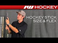 Hockey Stick Size & Flex - The Exercise Products Hockey Shot, Inline Hockey, Street Hockey, Youth Hockey, Ice Ice Baby, Health Fitness, Baseball Cards, Youtube
