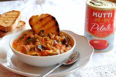 Zuppa+di+zucchine+e+stracciatella+d'uovo