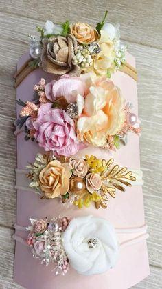 Diy Hair Bows, Diy Bow, Newborn Headbands, Baby Girl Headbands, Handmade Rakhi Designs, Ribbon Crafts, Girls Bows, Flower Crown, Ribbons