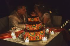New Wedding cake Trend <3 #Feel the love #AdventureWeddingsPV