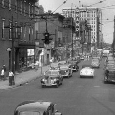 There was no woe on Louisville's amazing Walnut Street in the 1950's and early 60's. Sam Watkins of Louisville Central Community says,
