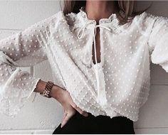 White blouse.