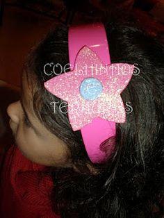 Bandolete estrela rosa