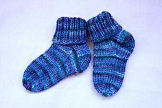 Ravelry: Basic Baby Bootie/Sock pattern by Tonya Rowe