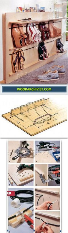 DIY Shoe Rack - Furniture Plans and Projects | WoodArchivist.com