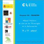 Portada del manual práctico de uso de las Tecnologías de la Información. 9 a 11 años