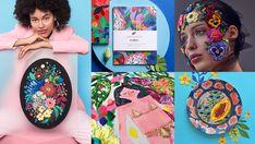 Botanical Illustration, Embroidery, Crafts, Painting, Moth, Inspiration, Image, Design, Blog