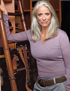 Iris von Arnim, she's 70!!!