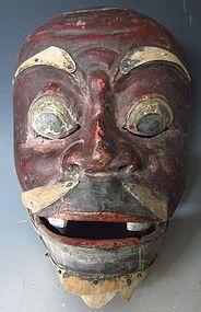 Indonesian Masks | Antique Indonesian Topeng Mask (item #1213519)