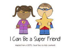 I Can Be A Super Friend Social Story.pdf - Google Drive