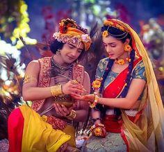 Radha Krishna Together Loving Couple Pic Star Bharat Hd Wallpapers For Dp, Radha Krishna Holi, Radha Krishna Love Quotes, Cute Krishna, Radha Krishna Pictures, Krishna Photos, Shree Krishna, Krishna Art, Radha Rani, Krishna Wife