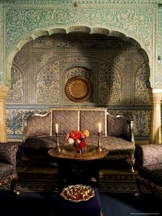 Traditional Indian decor