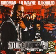 Lil Wayne and Baby, courtesy of DJ Khaled. Like Father, Like Son. Classic.