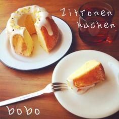 """レモンケーキです(笑) フランス語でZitronen kuchen(ツィトローネンクーヘン) こんばんは、お久しぶりです! 製菓実習で作りました〜(^ω^) 朝ごはんにしました。 一人暮らしなので一人でワンホールをちまちま消費します(笑)"""" では、また◎ - 387件のもぐもぐ - Zitronen kuchen○▽□ by ぼぼ"""