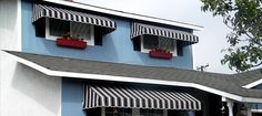 Made In The Shade Awnings | Custom Fabric Awnings