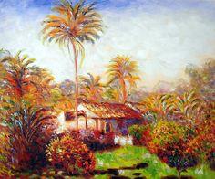 Monet - Small Country Farm in Bordighera