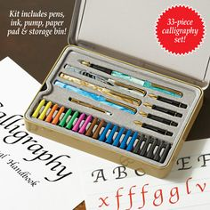 Calligraphy Learning Set - 33pc