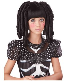 Rag Doll Curls Kids Wig - Adult Wigs
