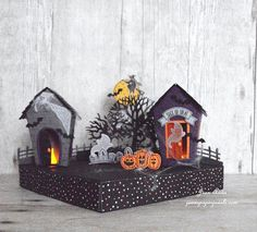 Jean's Paper Jewels: Stampin' Up! Sweet Home Haunted Houses