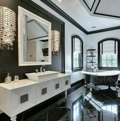 "2,447 Likes, 16 Comments - Grace R (@lovefordesigns) on Instagram: ""Wow stunning! What do you think? Love the black? . Via @propertygrams…"""