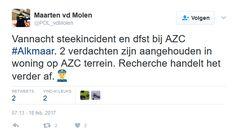 Nou wat waren de gelukszoekers weer dankbaar voor hun GRATIS en VEILIGE onderkomen in Nederland……'incident' 3093098449 alweer: steekpartij en diefstal AZC Alkmaar. En links zag dat het goed was. BRON Gerelateerd