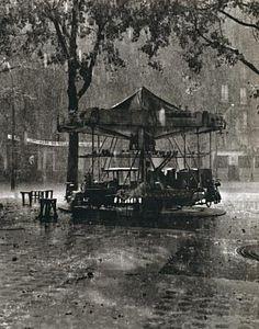 M. Barre's Carousel. Paris, 1955 - Robert Doisneau