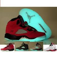 wholesale dealer 91d1f 6da64 if you like it ,just look for the detail Air Jordan 5 Glow In The Dark Sole  Varsity Red Black